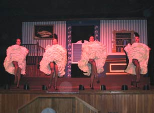 Can Can Show at Diamond Tooth Gerties