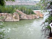 Passage at the Five Finger Rapids