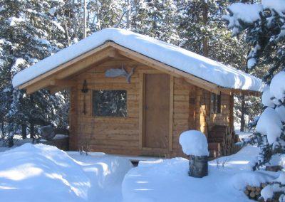 Log Cabin at Pilot Mountain