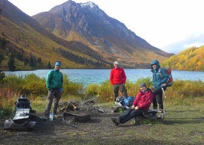 Barbeque at Saint Elias Lake