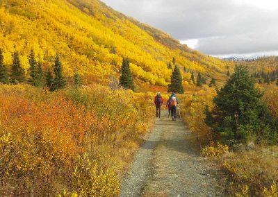 Indian Summer Hike to Saint Elias Lake