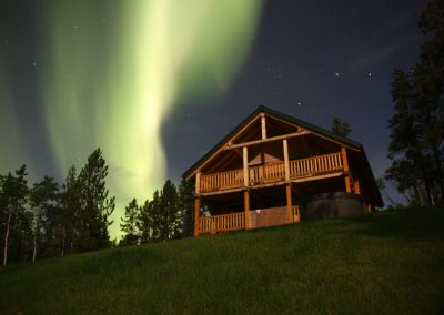 Norther Lights above our house