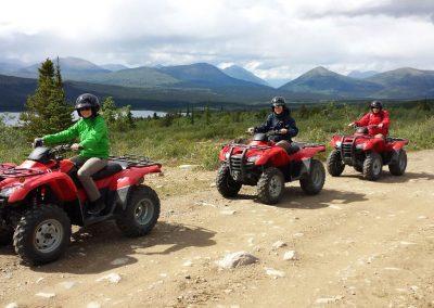 Auf zum Mount McIntyre , unserem Aussichtspunkt.