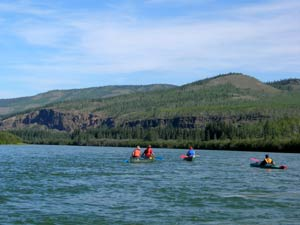 The upper Yukon River