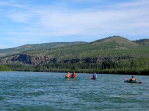 Der obere Yukon River