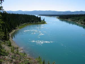 Yukon River at Lower Laberge