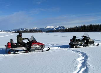 Snowmobile Tour – half day