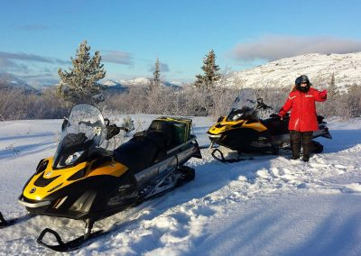 Yukon Snowmobile trip