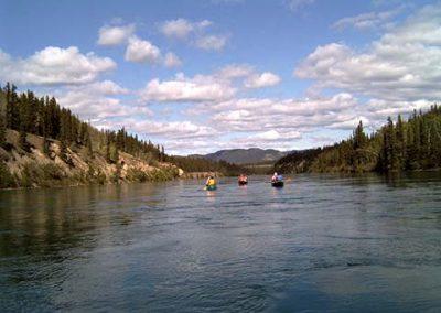 Historic Yukon River Canoe Trip