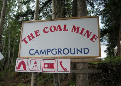 Coal Mine Campground in Carmacks